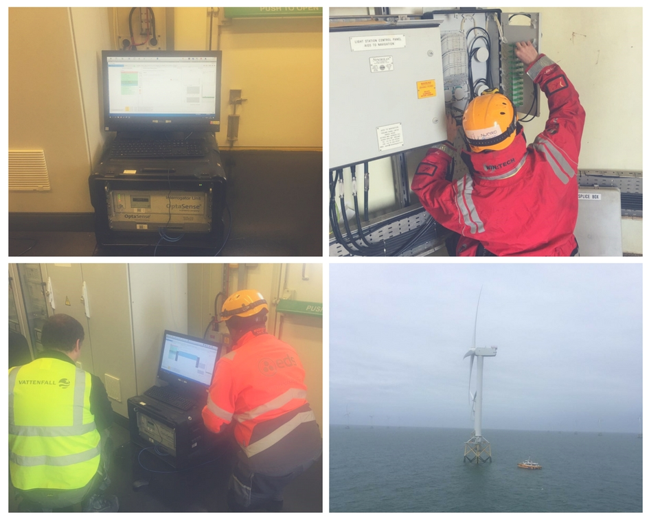 EDS HV Group Successfully Completes Further Cable Sentry™ Trials at Ormonde Offshore Wind Farm.