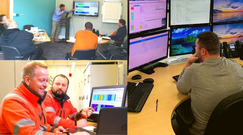 Further upskilling for EDS as the team completes Cable Sentry� Training Programme