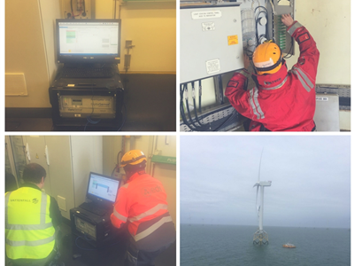 EDS HV Group Successfully Completes Further Cable Sentry Trials at Ormonde Offshore Wind Farm.