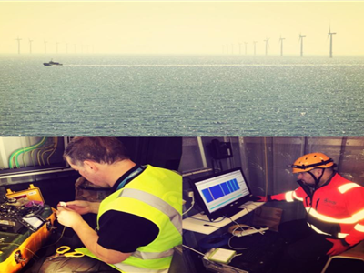 EDS HV Group has successfully completed another round of Cable Sentry trials at London Array offshore wind farm.